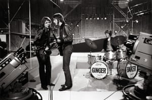Cream perform on the TV programme Ready Steady Go in 1966
