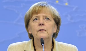Angela Merkel appeared to dismiss the prospect of radical change.