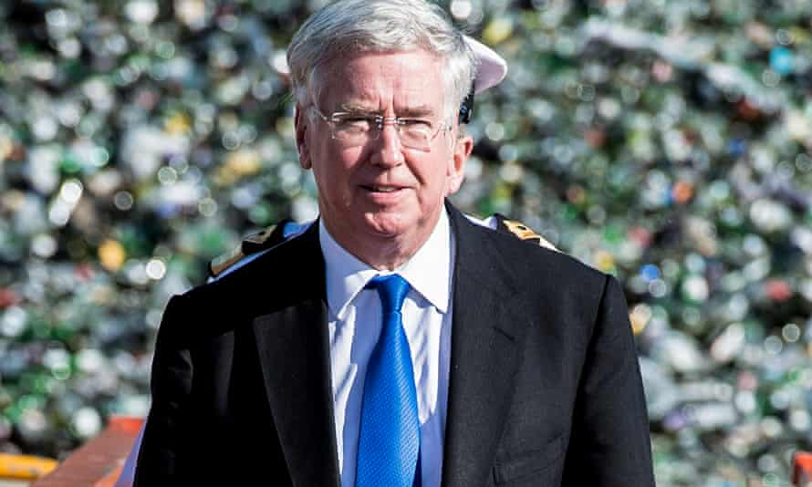 Michael Fallon, the defence secretary