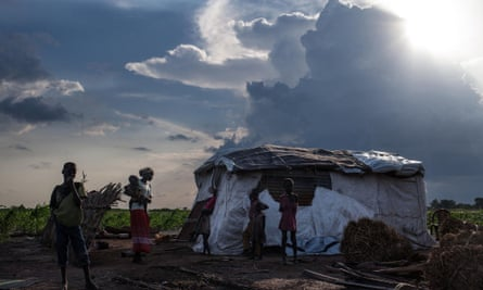 Martha Nyarueni and her family fled Leer in January to escape the violence. On their return they found that their home burned and food stores looted. South Sudan