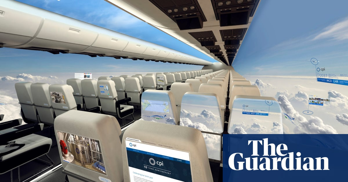 The Windowless Plane Set For Take Off In A Decade
