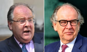 Lord Falconer in 2011 and now