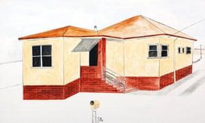 Paul Keating home Noel McKenna artwork