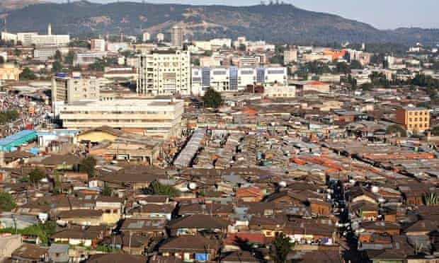 The Merkato in Addis Ababa, Ethiopia
