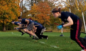 St Andrews university Quidditch team