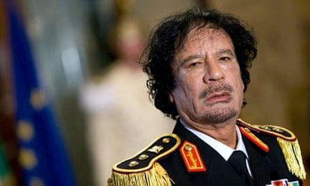 Libya Muammar Gaddafi