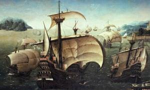 """CARRACK a 17th-century Portuguese sailing ship"""
