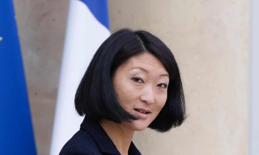 French culture minister Fleur Pellerin. She says Charles Baudelaire's Les Fleurs du Mal is one of her favourite books.
