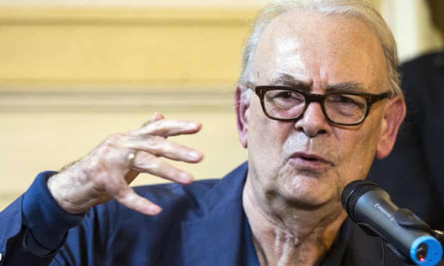 Patrick Modiano, who was a surprise winner of this year's Nobel prize in literature in a field that included acclaimed Kenyan author Ngugi wa Thiong'o.
