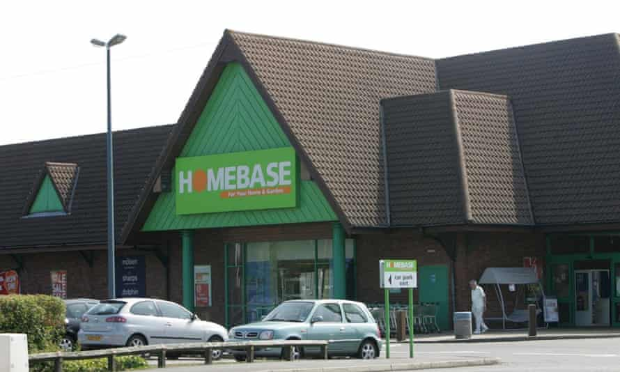A Homebase store