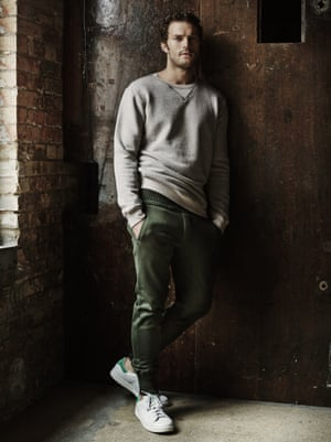 Jamie Dornan fashion shoot
