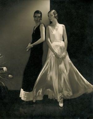 Edward Steichen; Models wearing dresses by Vionnet
