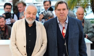 Timothy Spall with Mike Leigh