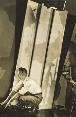 Edward Steichen; Self-portrait with Photographic Paraphernalia