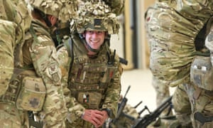 British military personnel, arriving at Kandahar airfield having departed Camp Bastion, Helmand Province.