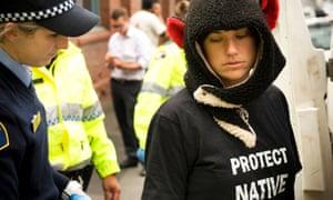Tasmania protest