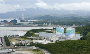 The Sendai nuclear power station in, south-west Japan.