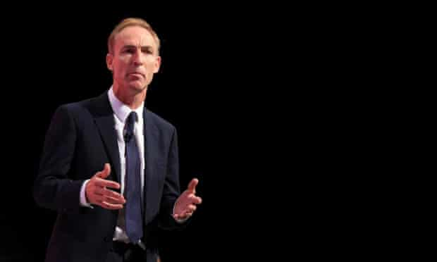 Jim Murphy at Manchester Central, during the Labour party conference