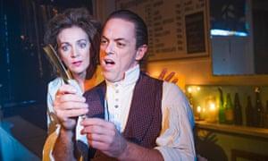 Sweeney Todd: Siobhan McCarthy (Mrs Lovett) and Jeremy Secomb (Sweeney Todd) in Sweeney Todd by Stephen Sondheim