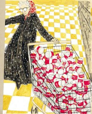 Julia Warhola, illustrated by Leslie Herman