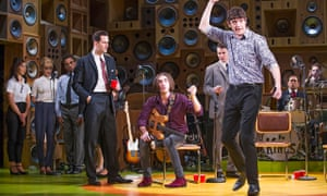 John Dagleish (Ray), right  in Sunny Afternoon by Ray Davies. Photograph: Tristram Kenton for the Gu