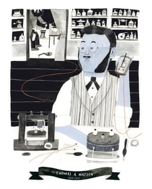 Thomas A Watson, illustrated by Yina Kim