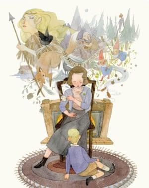 Sofie Magdalene (Hesselberg) Dahl, illustrated by Jensine Eckwall