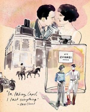 """Captain Arthur Edward """"Boy"""" Capel, illustrated by Samantha Hahn"""