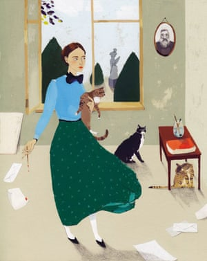 Gwen John, illustrated by Katrin Coetzer.