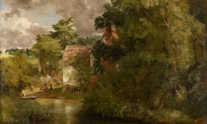 John Constable's Willy Lott's House from the Stour (The Valley Farm)