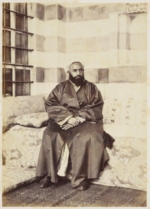 Cairo to Constantinople: Portrait of Abd al-Qadir, May 1862