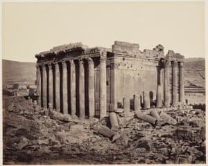 Cairo to Constantinople: Temple of Jupiter, Baalbek, Lebanon, 3 May 1862R