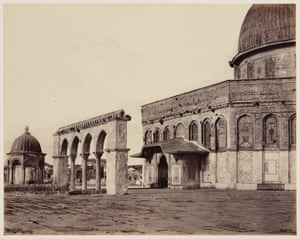 Cairo to Constantinople: Dome of the Rock, Jerusalem, 1 April 1862