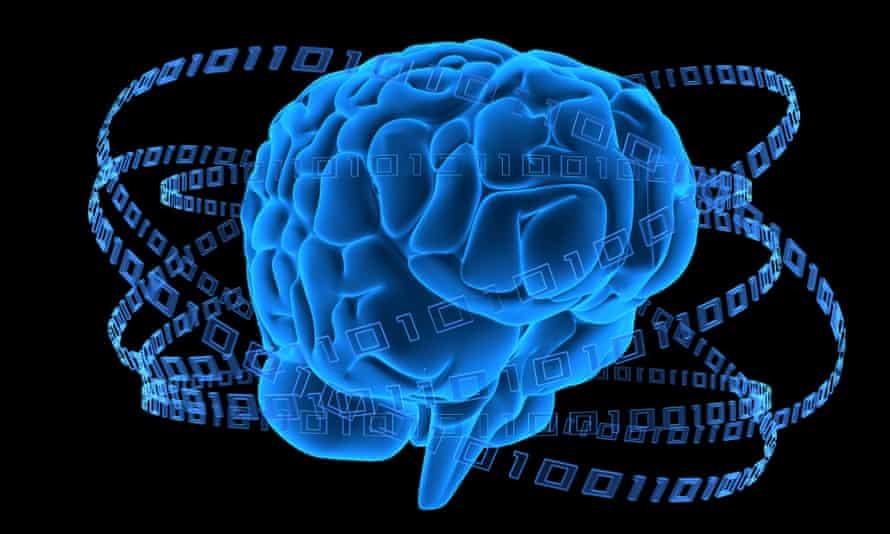 B91E5A digital brain. Image shot 2007.