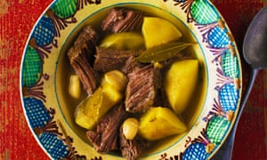 Ox cheeks with quince and bay leaf Itamar Srulovich & Sarit Packer