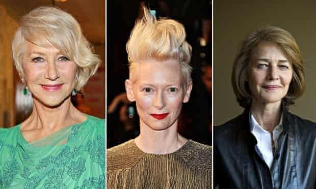 Charlotte Rampling, Tilda Swinton and Helen Mirren