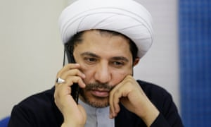 Ali Salman, leader of the Bahraini Shia opposition group, Al-Wefaq