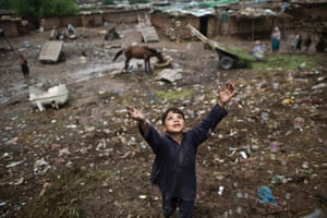 Photographer Muhammed Muheisen: 'This Afghan boy chasing bubbles