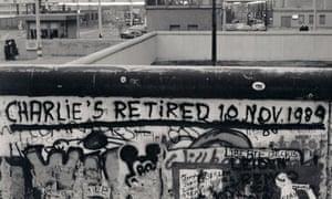 Berlin Wall at Checkpoint Charlie