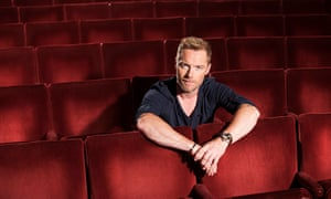 Ronan Keating (Once The Musical) photo by Hugo Glendinning, October 2014