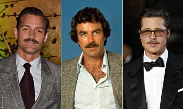 Patrick Grant, Tom Selleck and Brad Pitt