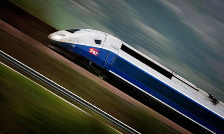 'The network of services provided by TGV trains is very extensive – it serves 230 destinations, desp