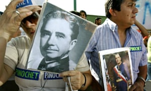 Supporters of Augusto Pinochet in 2006
