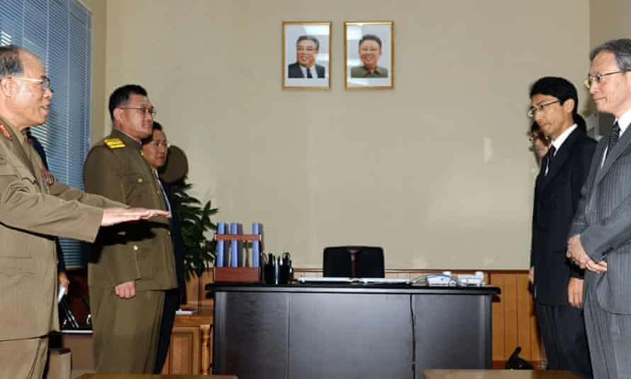 Officials from North Korea and Japan meet over the abduction by the Kim regime of Japanese citizens.