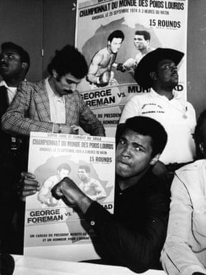 Ali promotes the fight