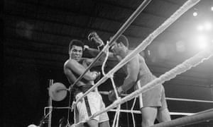 Foreman fought back and had trained to cut off the ring to prevent Ali from escaping Foreman's flurry of punches