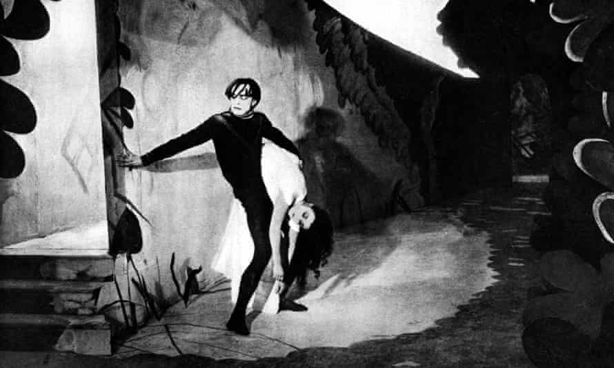 Conrad Veidt and Lil Dagover in The Cabinet of Dr Caligari.
