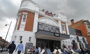 Ritzy Cinema in Brixton, south London