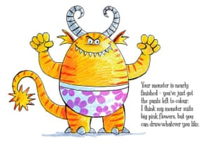 How To Draw A Monster In Underpants Children S Books The Guardian