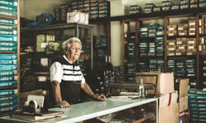 Carlos Ruiz, 75, owner of the sportswear shop in Buenos Aires